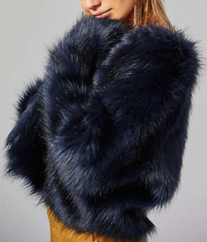 Frankie Fur Coat FREE PEOPLE