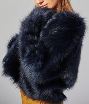 Frankie Fur Coat FREE PEOPLE