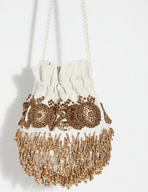 Beaded Embellished Pouch free people