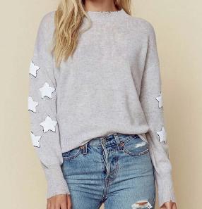 27 Miles Malibu Luella Star Patch Pullover