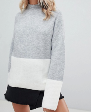 Missguided – Pull effet color block
