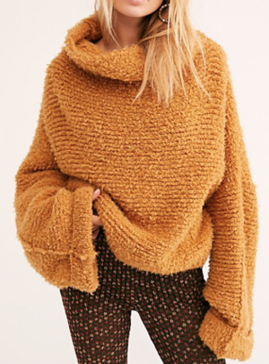 Teddy Bear Pullover Sweater free people
