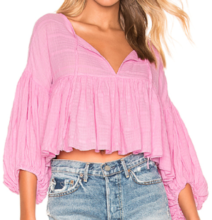 Beaumont Mews Blouse  Free People