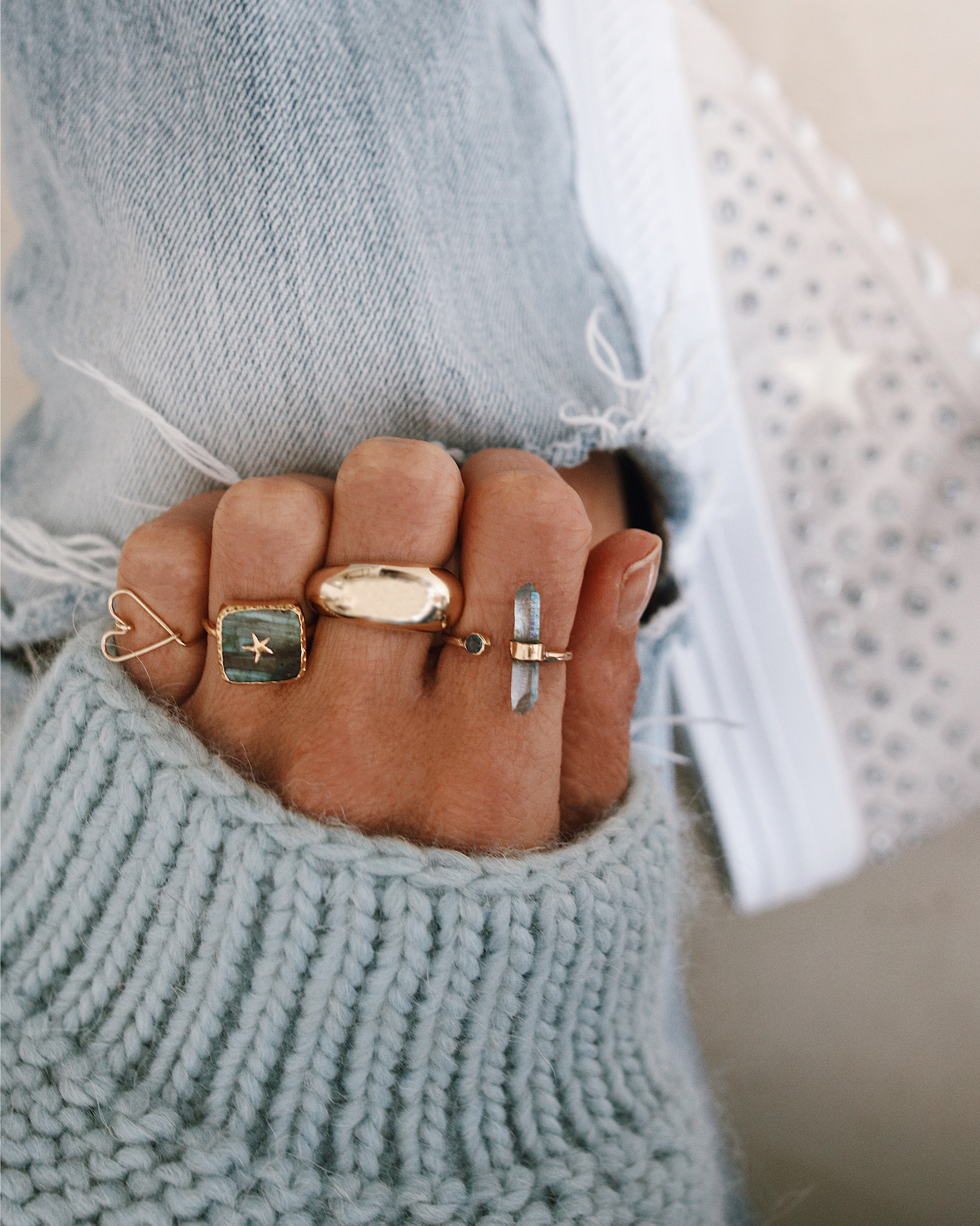 RING RING RING - Chon & CHON - #jewelryaddict - GOLD RINGS, bagues de créateurs or, pierre semi précieuses, bijoux femme, bagues or, gold rings