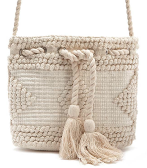 sac sceau crochet blanc forever 21