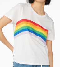Soft tee rainbow monki