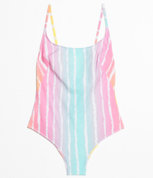 Low Back Tie Swimsuit and other stories