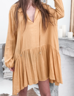 Robe Liane Jaune pretty wire