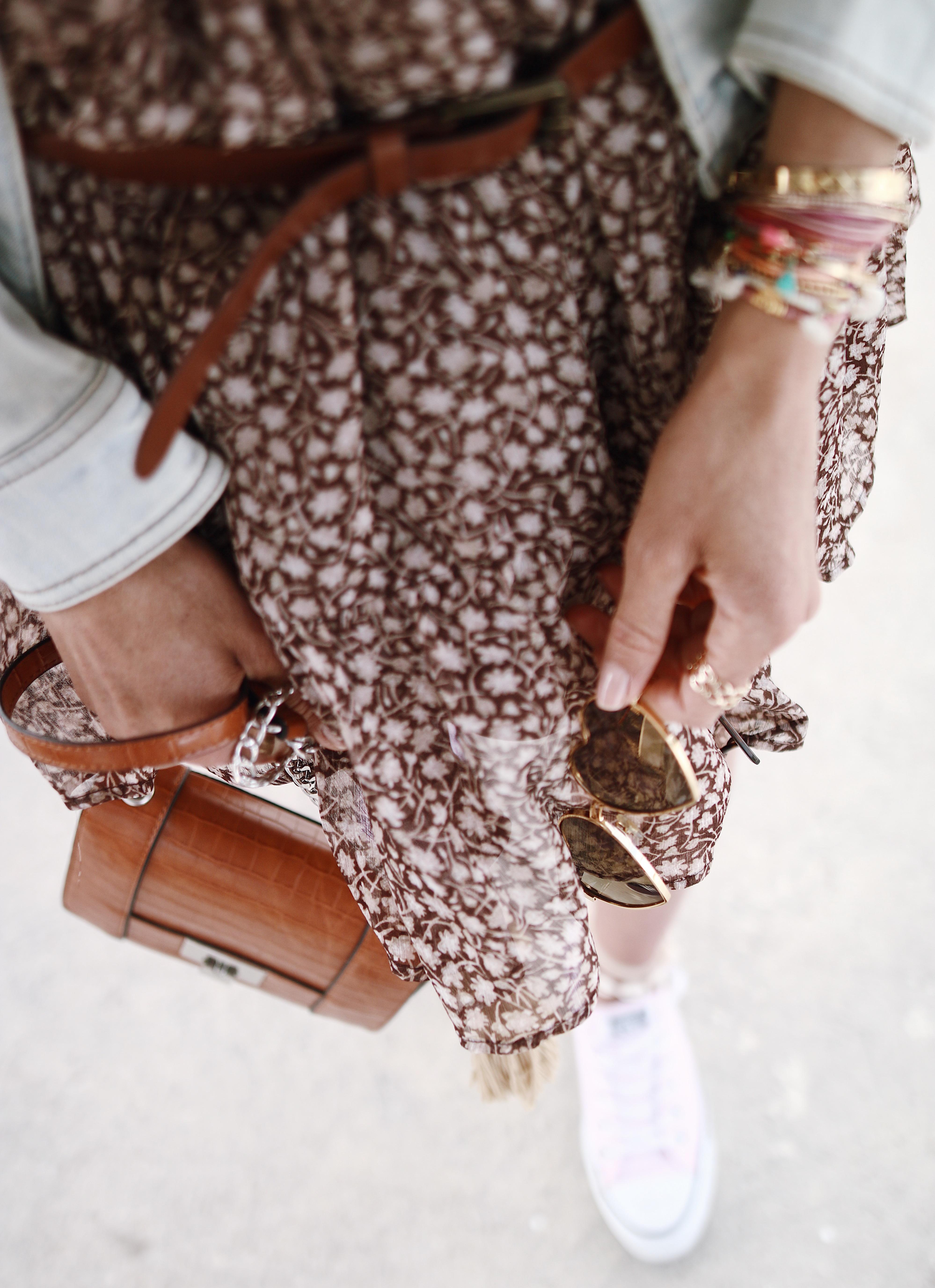 Chon & CHON - www.chonandchon.com - MINI BABY ) rove courte mousseline h&m , casual style, petite robe de printemps