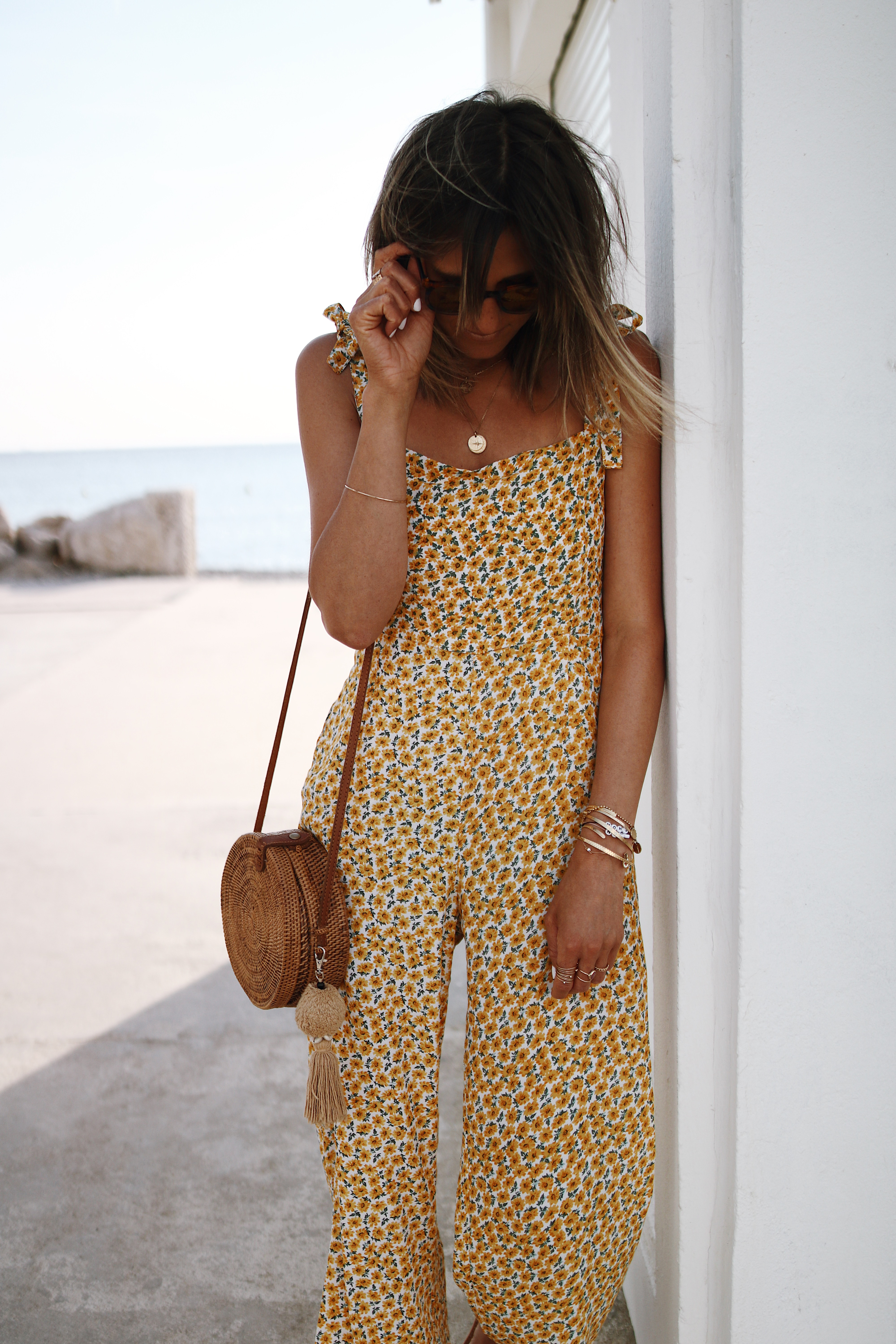 Chon & CHON - www.chonandchon.com - YELLOW MARGUERITE - combinaison Faithfull the brand, faithful the brand jumpsuit - summer outfit, summer style, yellow jumpsuit, combinaison pantalon jaune été