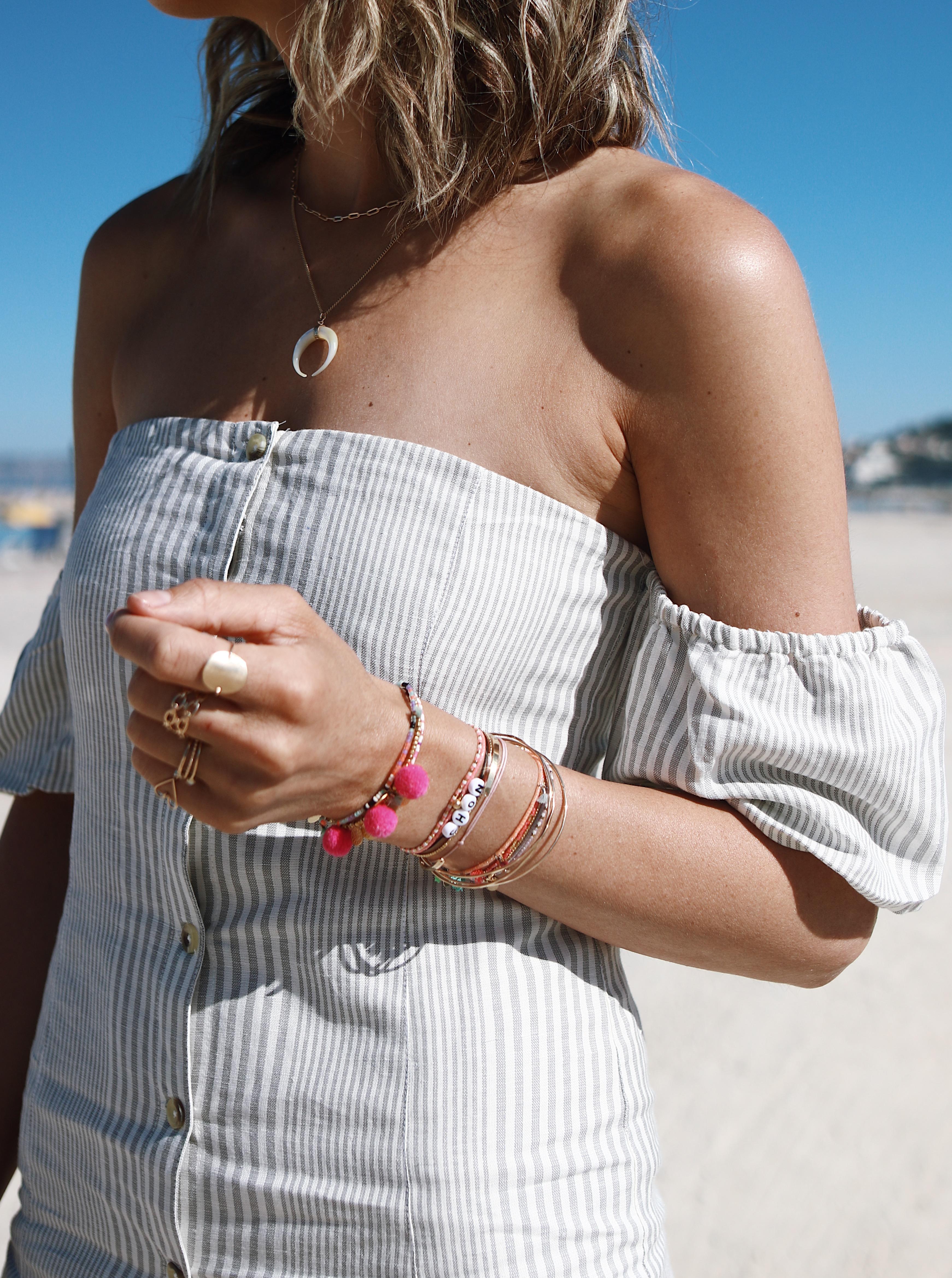 "Chon & CHON - LIKE SUMMER - robes island skies amuse society - look été, petite robe d""été courte"