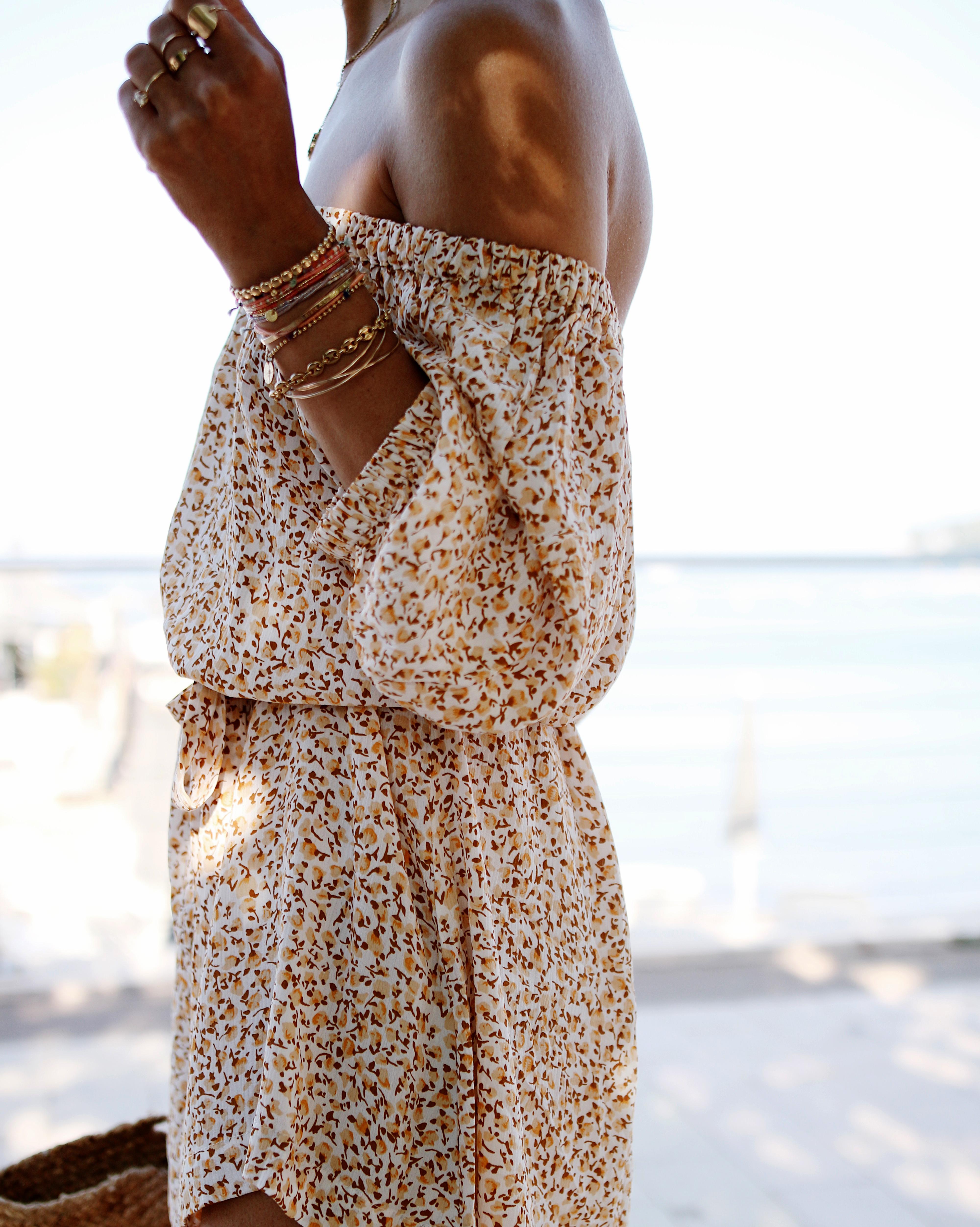 @chon.and.chon - WWW.CHONANDCHON.COM ) summer dress, faithful the brand Clarence robe à fleurs