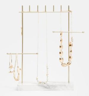 Boîte à bijoux minimaliste marbre stradivarius