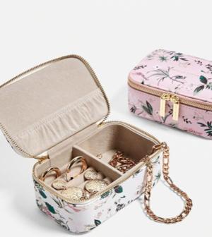 Estella Bartlett – Petite boîte à bijoux imprimé floral Urban outfitters