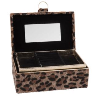 Boîte à bijoux imprimé léopard maisons du monde