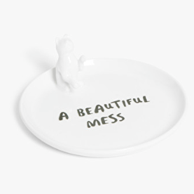 Decorative plate monki