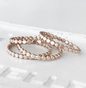 BALL STACKING RING JAMES MICHELLE JEWELRY