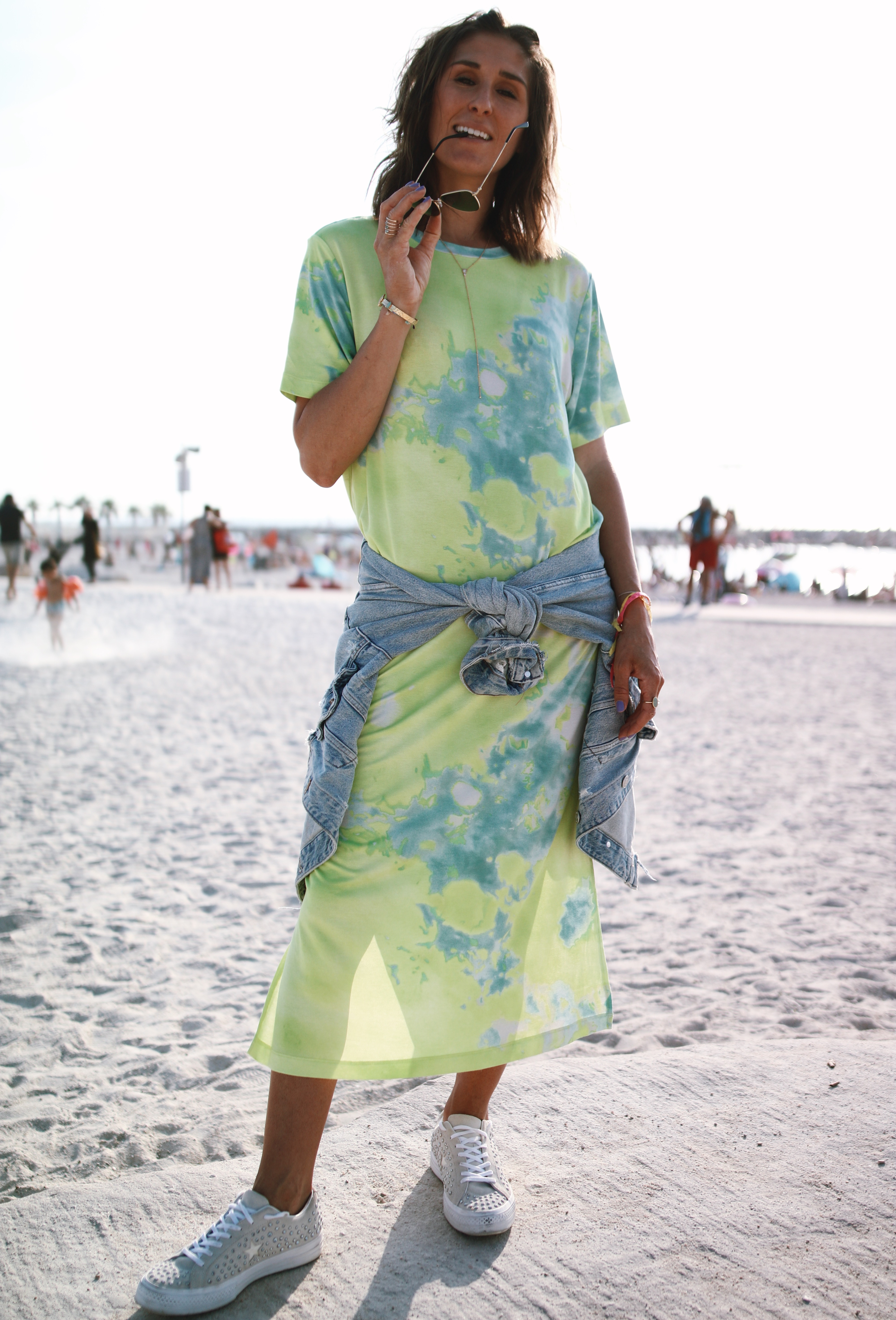 @chon.and.chon - www.chonandchon.com - tie and dye dress - casual maxi dress, summer look