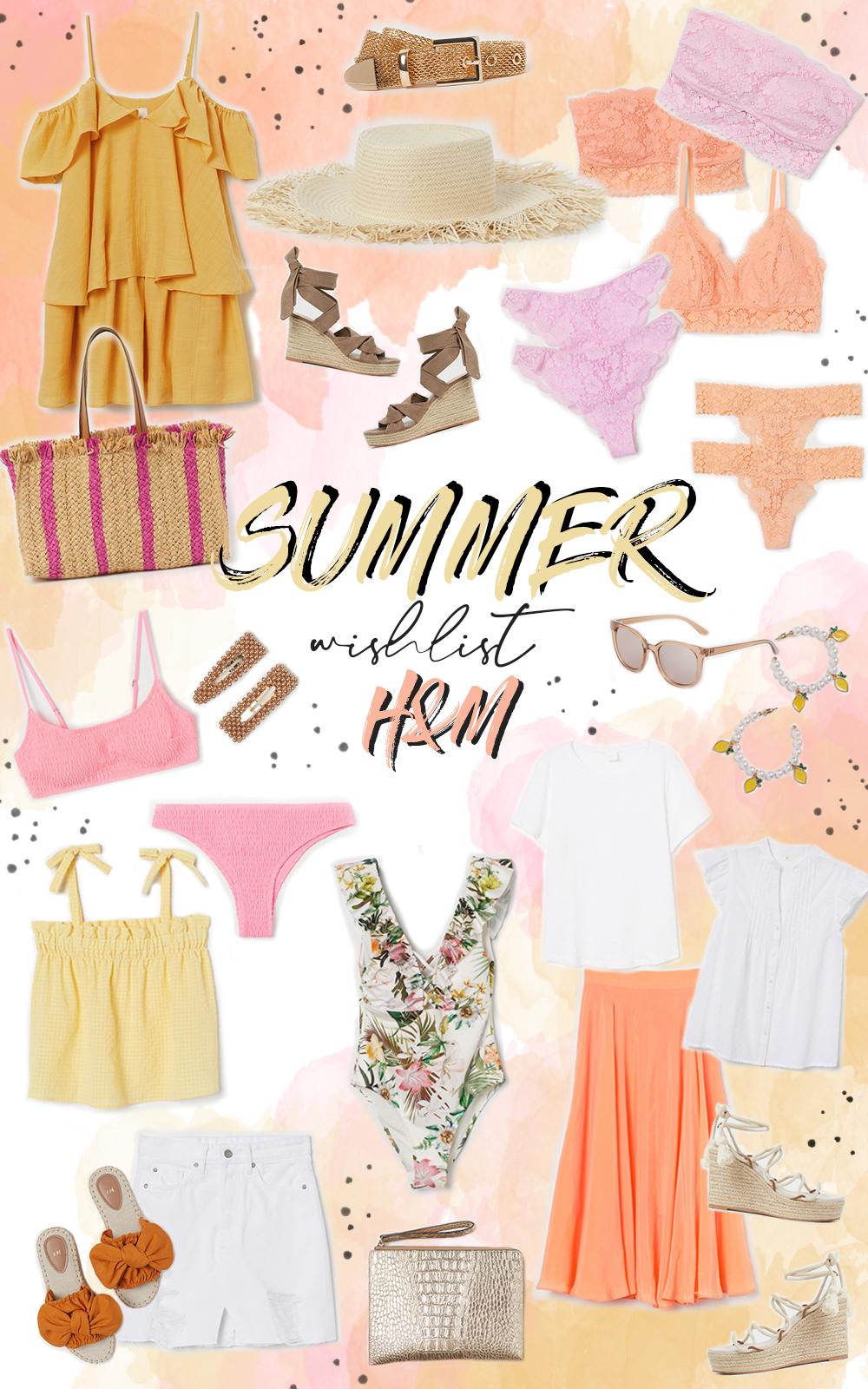 wishlist été summer h&m