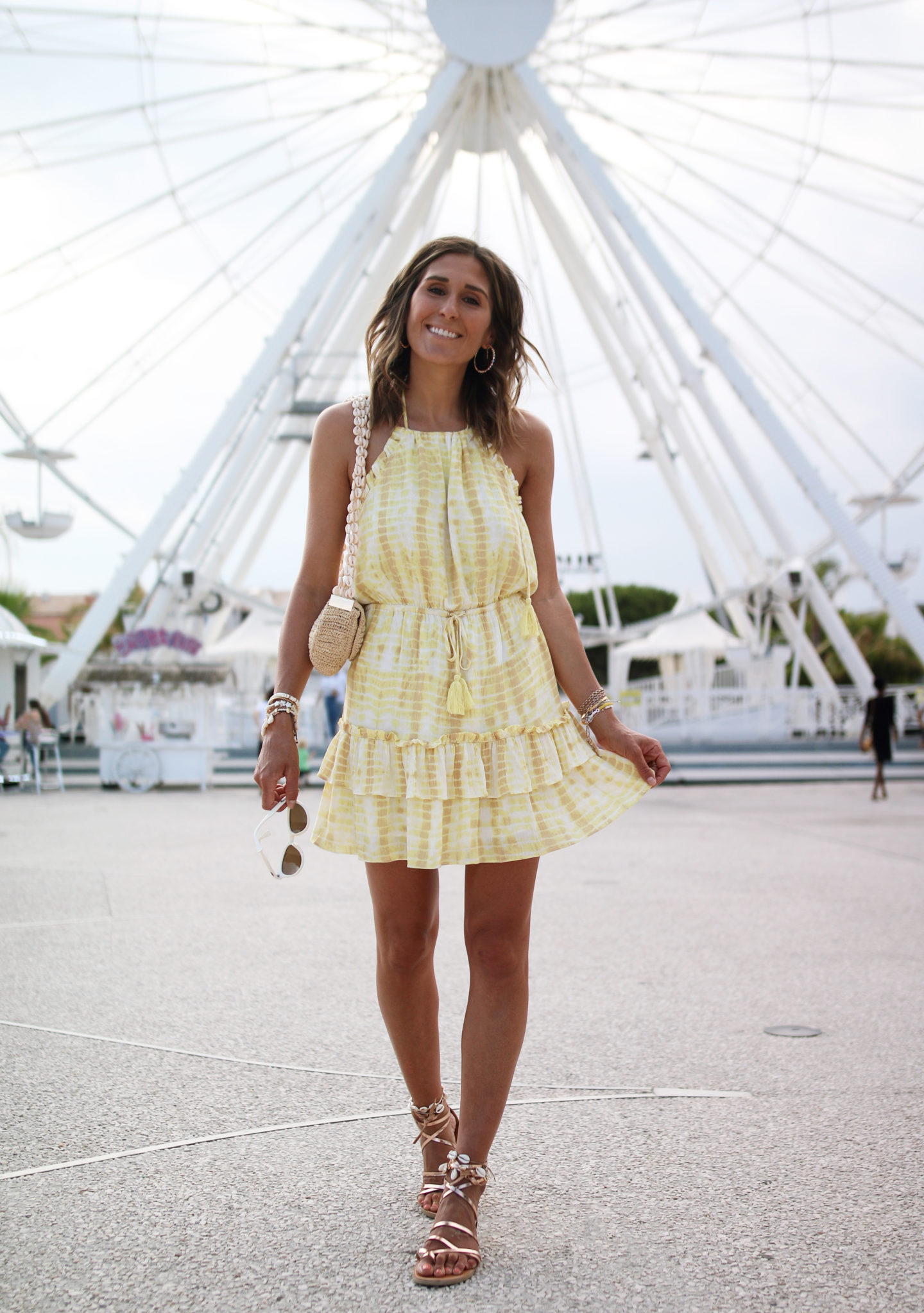 majorer yellow mini dress - Chon and chon