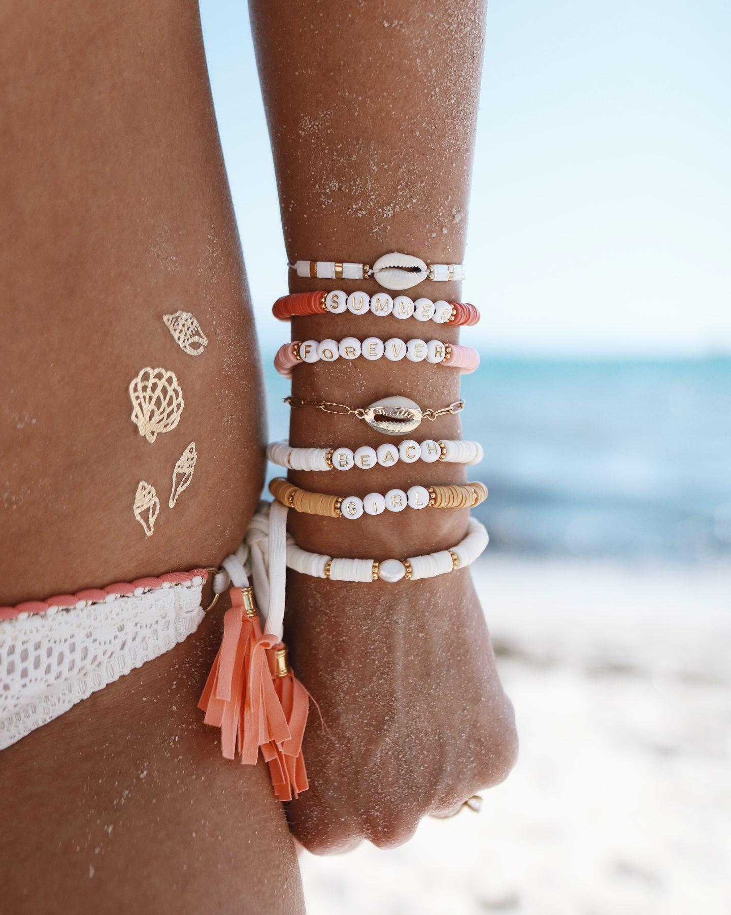 SUMMER JEWELRY, BRACELETS D'été, bracelets surfeurs, beach life
