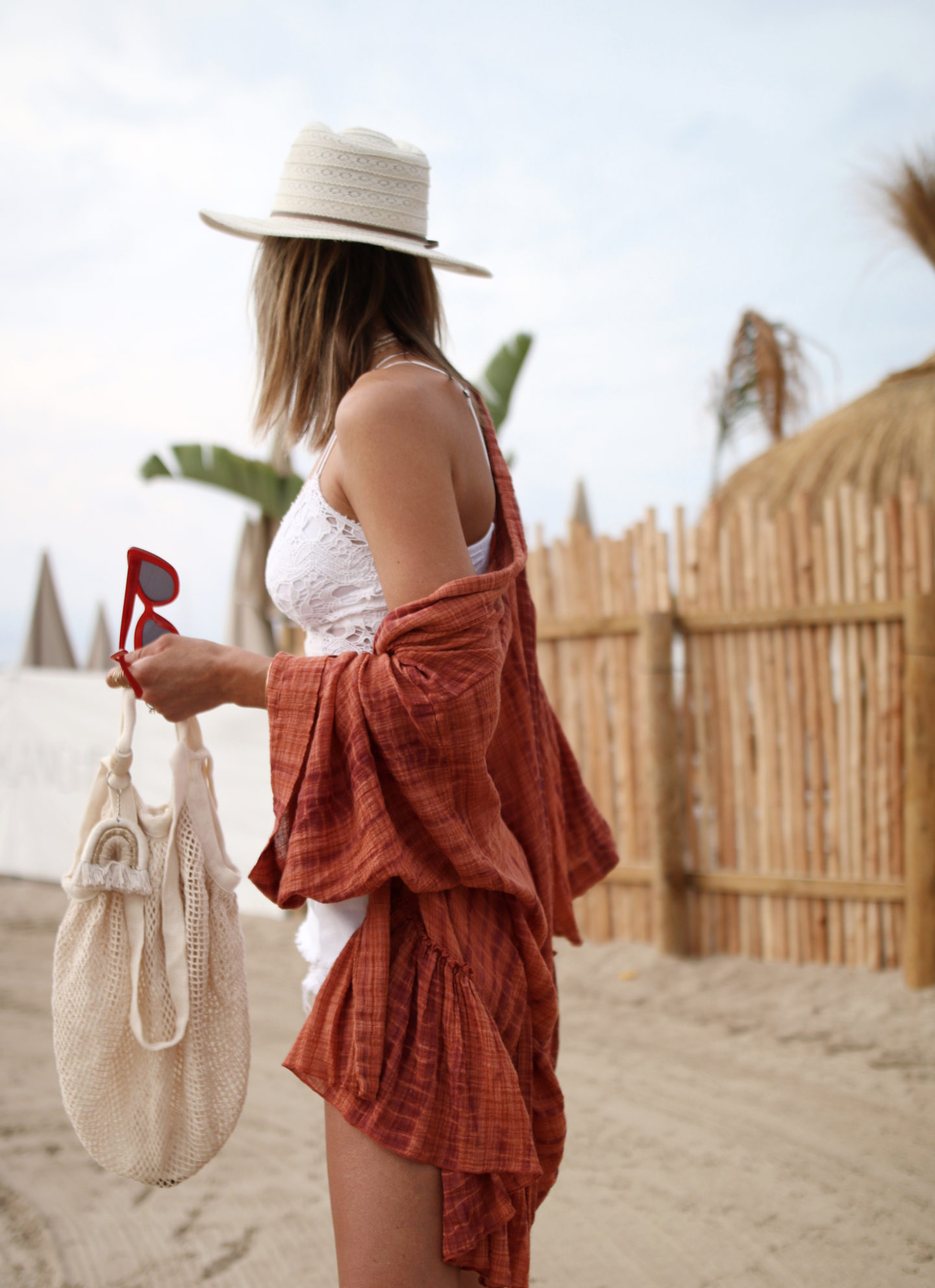 boho outfit, revile style free people kimono