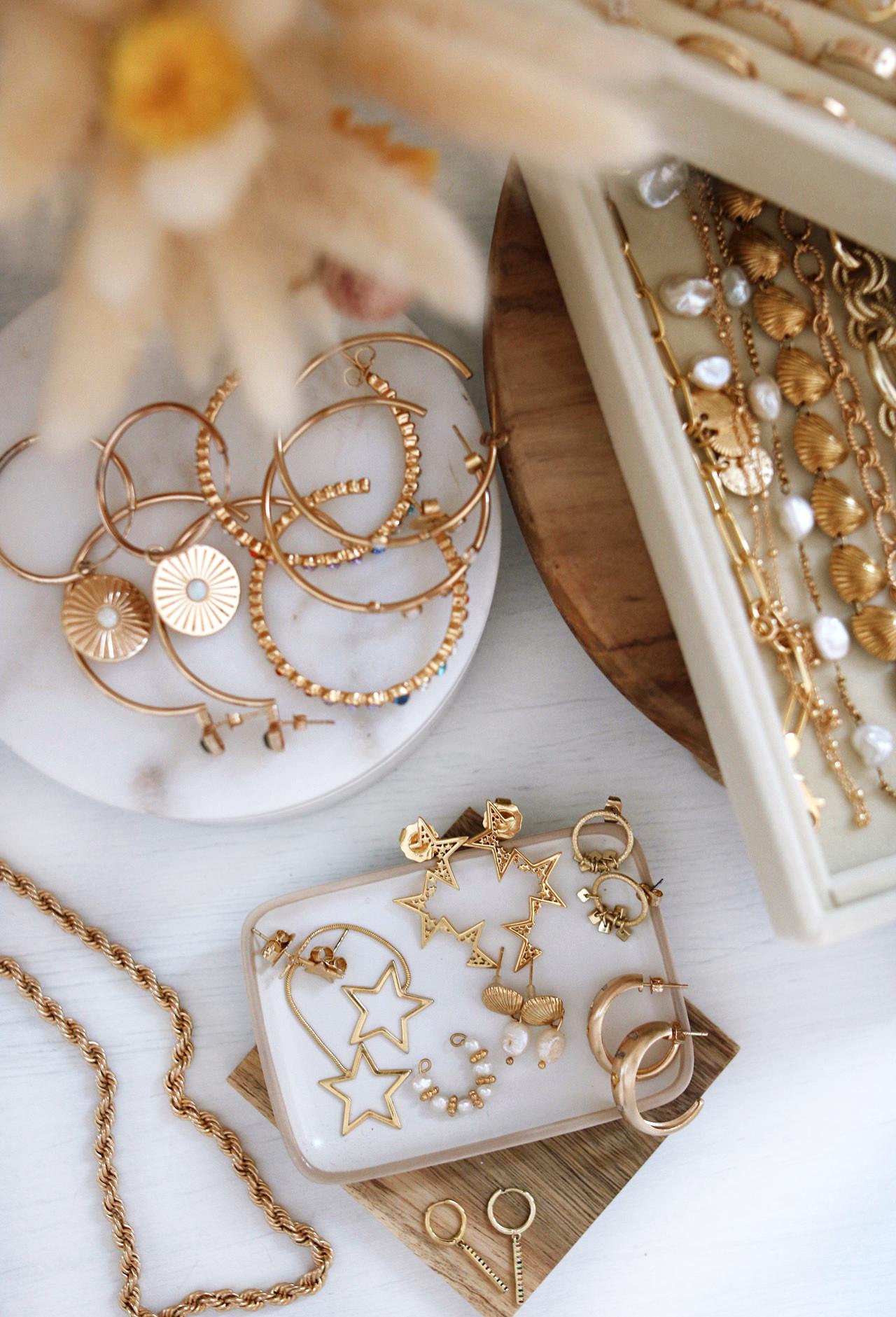 rangement bijoux, boite à bijoux