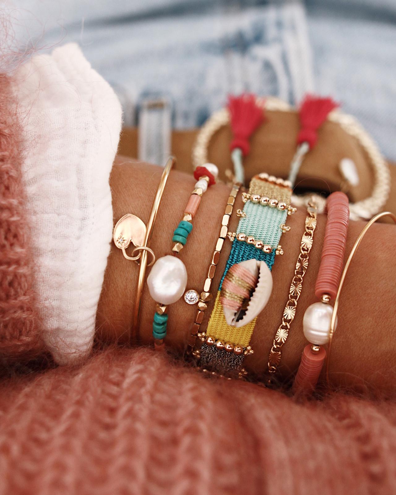 WWW.CHONANDCHON.COM bracelets colorés, bijoux d'été hipanema