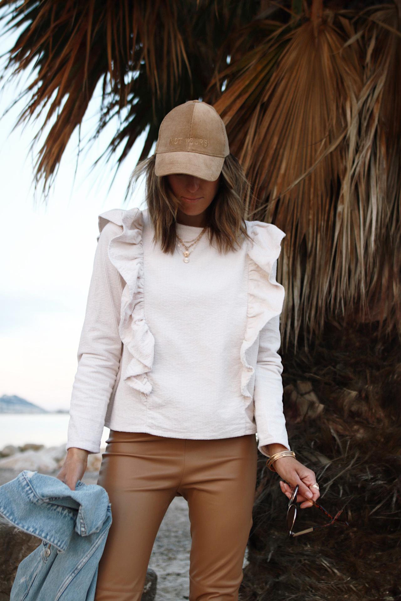www.CHONANDCHON.COM blouse à volants maison stella et suzie