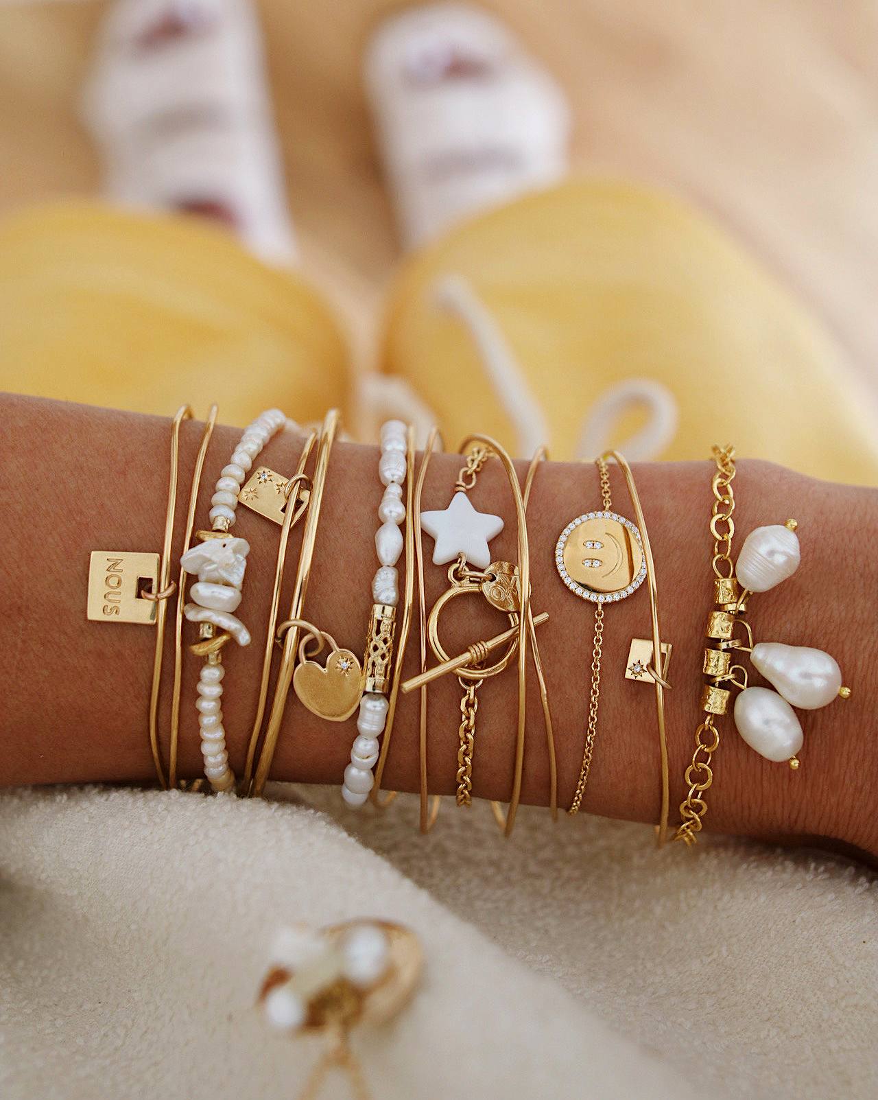 bracelets stack www.chonandchon.com