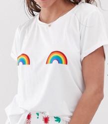 Chelsea Peers – Pyjama à motif arc-en-ciel
